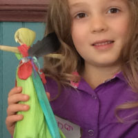 Corn Husk Dolls with Cathy Clark