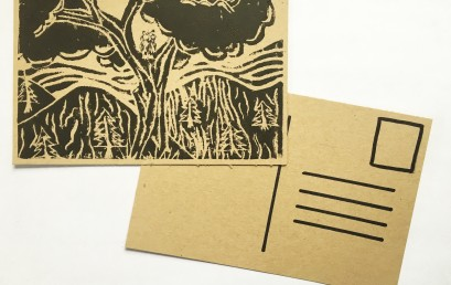 Relief Printmaking: Create Your Own Postcards