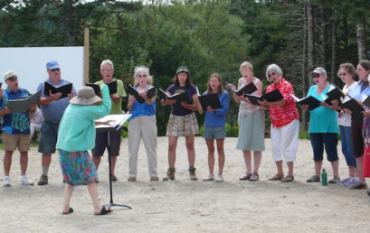 The Schoodic Summer Chorus