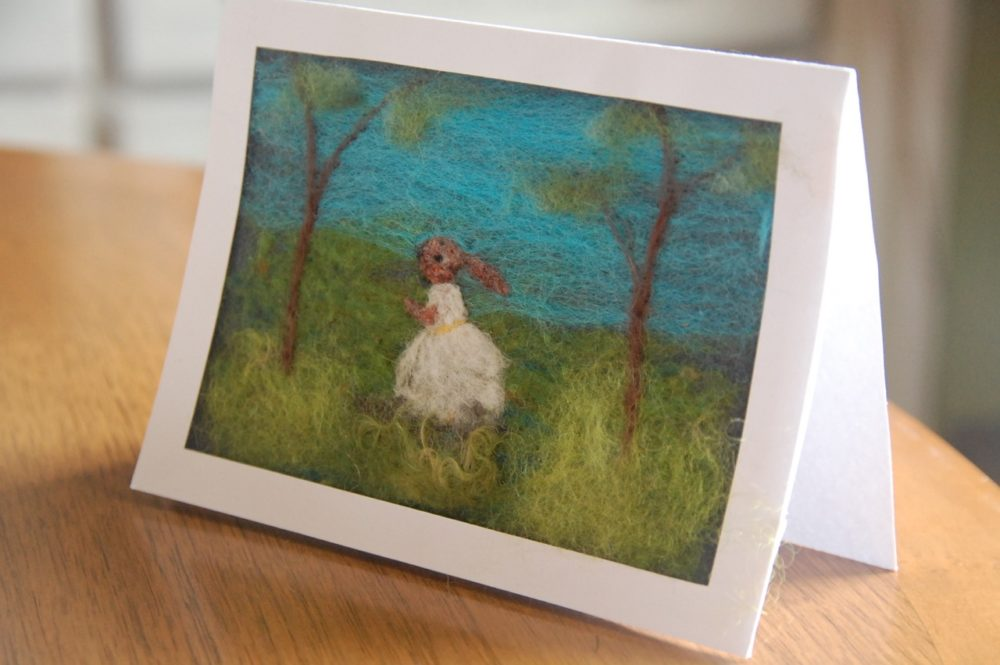 Needle Felted Greeting Cards with Jessica Peil-Meininghaus