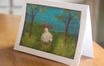 Felted Greeting Cards