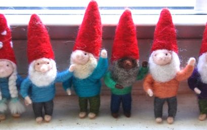 Felted Gnomes