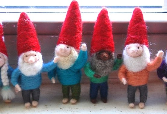 Felted Gnomes Jessica Peil-Mieninghaus