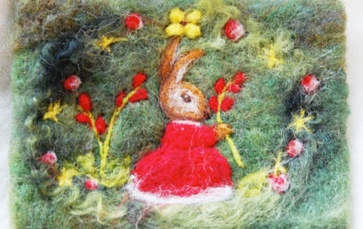 Felting Pictures with Kids