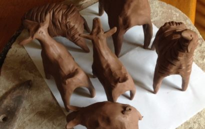 Making Small Clay Animals, Hand Forming with the Pinch Method