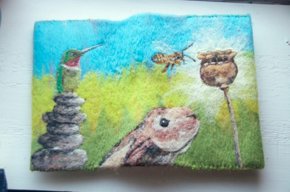 Needle Felted Journal Covers with Jessica Peil-Meininghaus