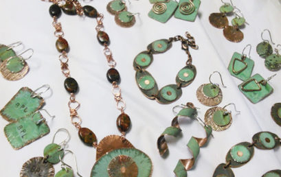 Jewelry Made from Recycled Statehouse Dome Copper