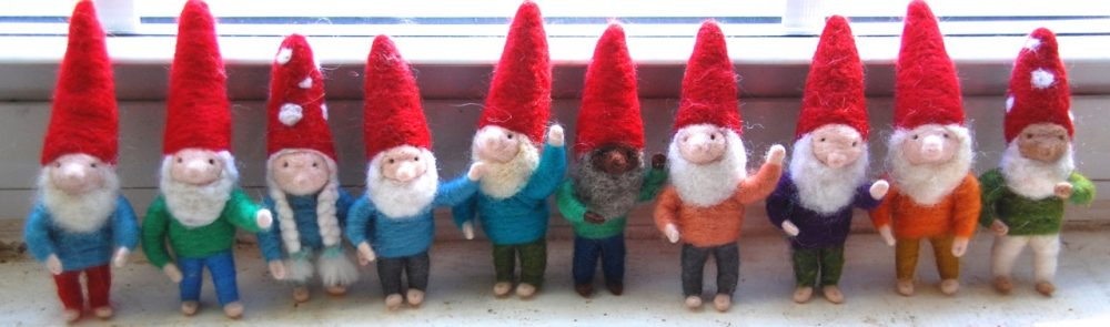 Felted Gnomes with Jessica Peil-Meininghaus