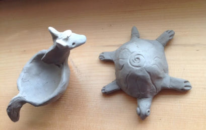 Pinch Pot Animals