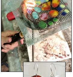 Torch Fired Enameling (Added to Wednesday, August 2)