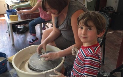 Clay With Me: Parent And Child Wheel Class