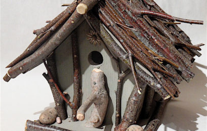 Build a Rustic Birdhouse
