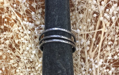 Silver Stacking Rings (3 rings)