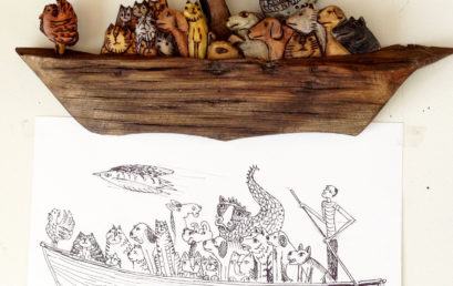 Animal Folk Art Carving