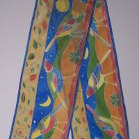 Silk Scarf with Leanne Clark