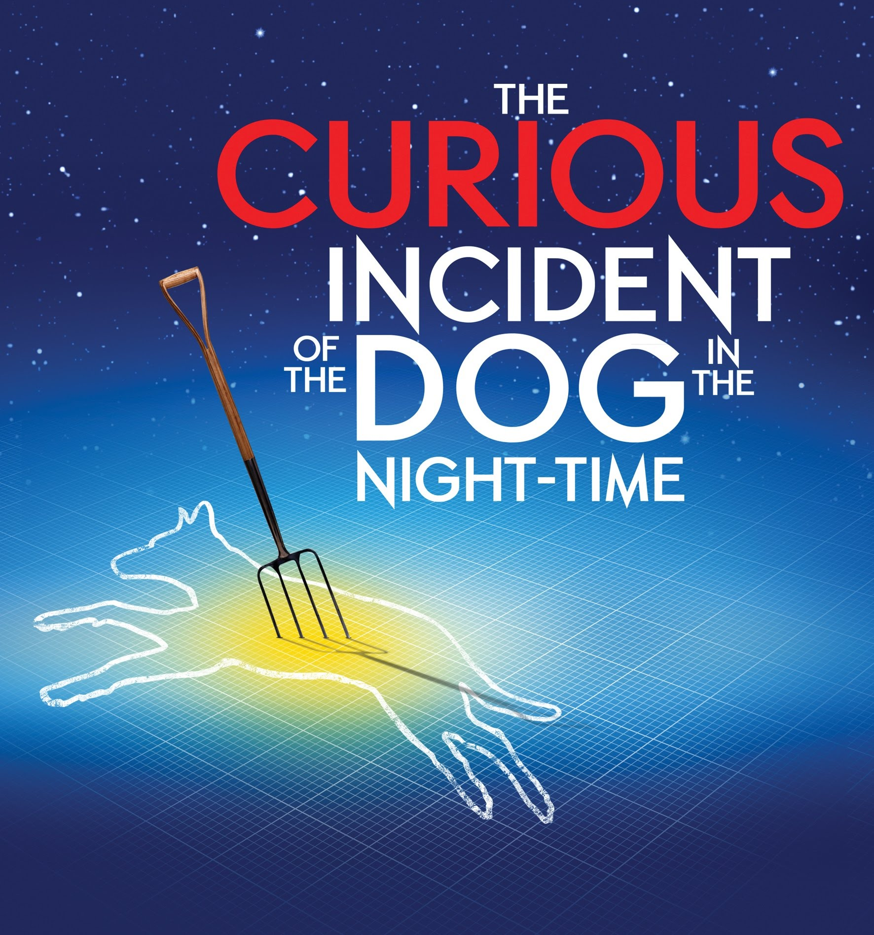 Spring Show May 18, 19 and 20 The Curious Incident of the Dog in the Night-Time
