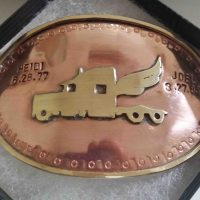 Copper and Brass Buckle with Amanda Coburn