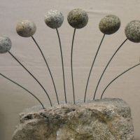 Mini Kinetic Stone Sculpture with Obadiah Buell