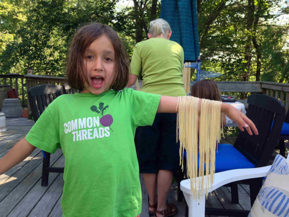 Fresh Handmade Pasta and Easy Sauces for Kids with Chris Toy