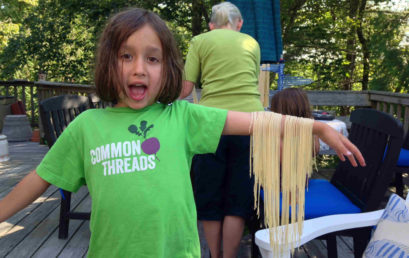 Fresh Handmade Pasta and Easy Sauces for Kids