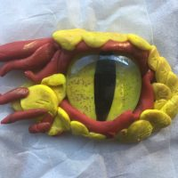 Polymer Clay Dragon Eyes with Jen Kearns