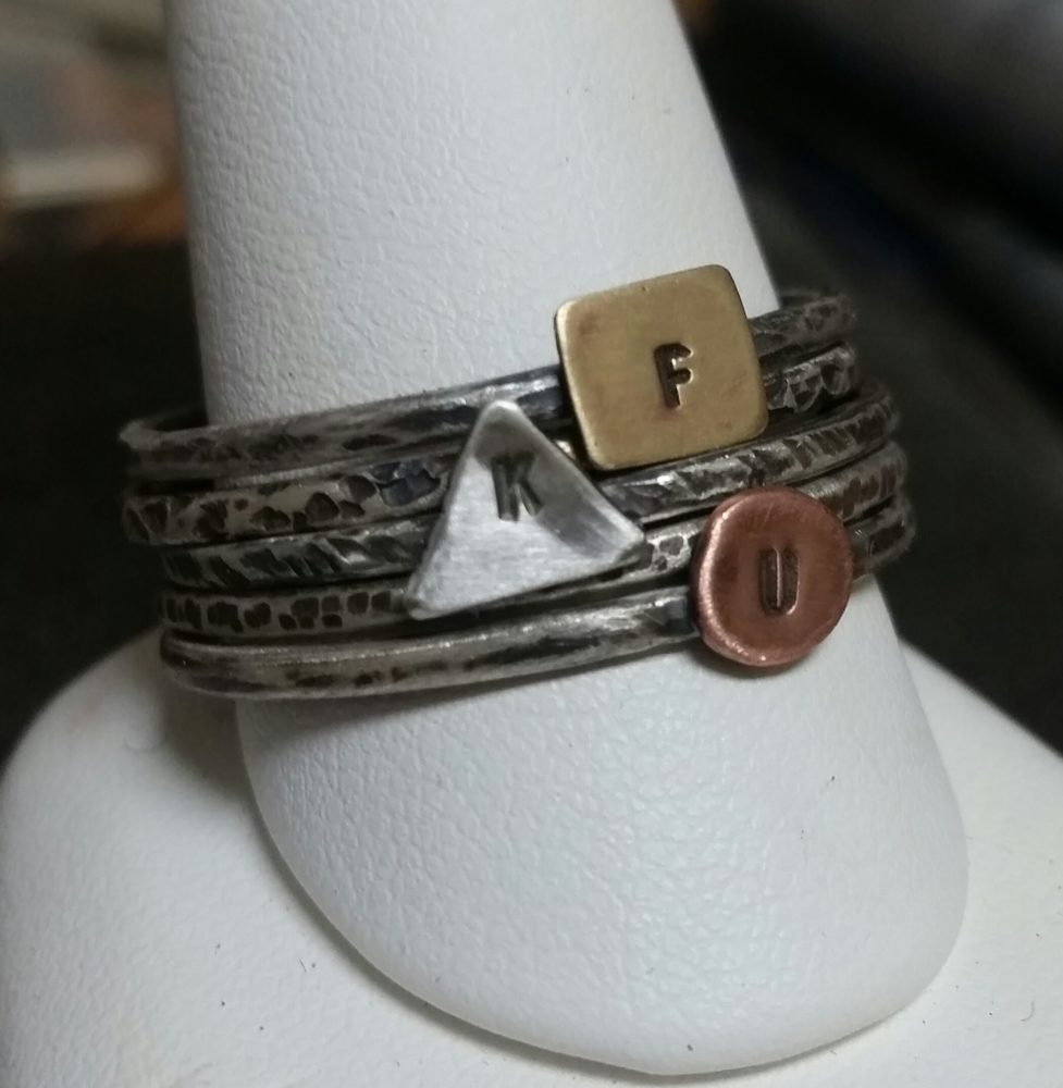 Sterling Silver Stacking Rings with Amanda Coburn