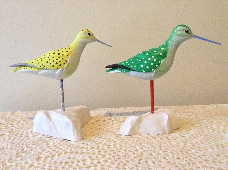 Bird Carving: Fanciful Sandpipers with Steve Valleau