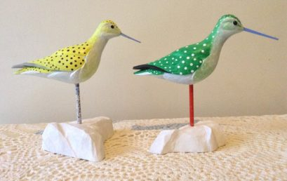 Bird Carving: Fanciful Social Sandpipers