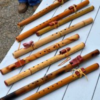Native Flute Making with Hawk Henries
