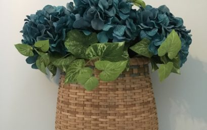 Half Round Wall Basket
