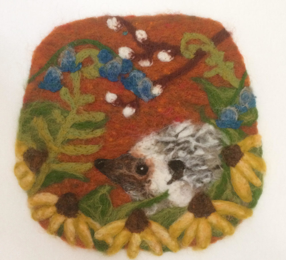 Needle Felted Medallions with Jessica Peil-Meininghaus