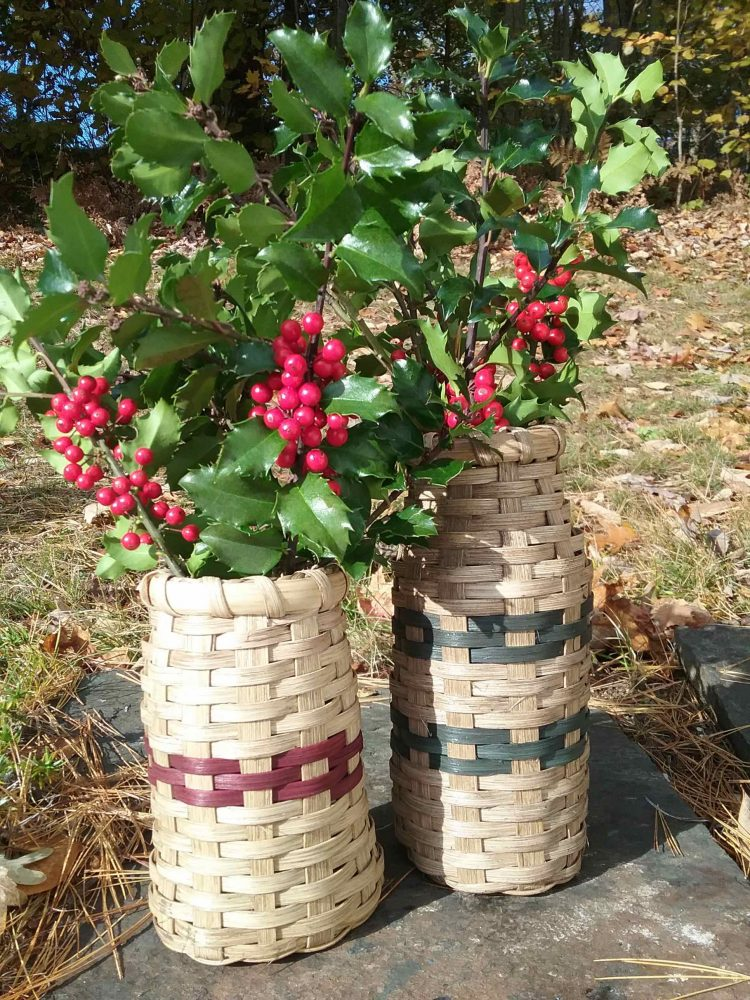 Martha Chessie Strapped Berry Picker and Bottle Vase Basket 2019 reduced file size for web