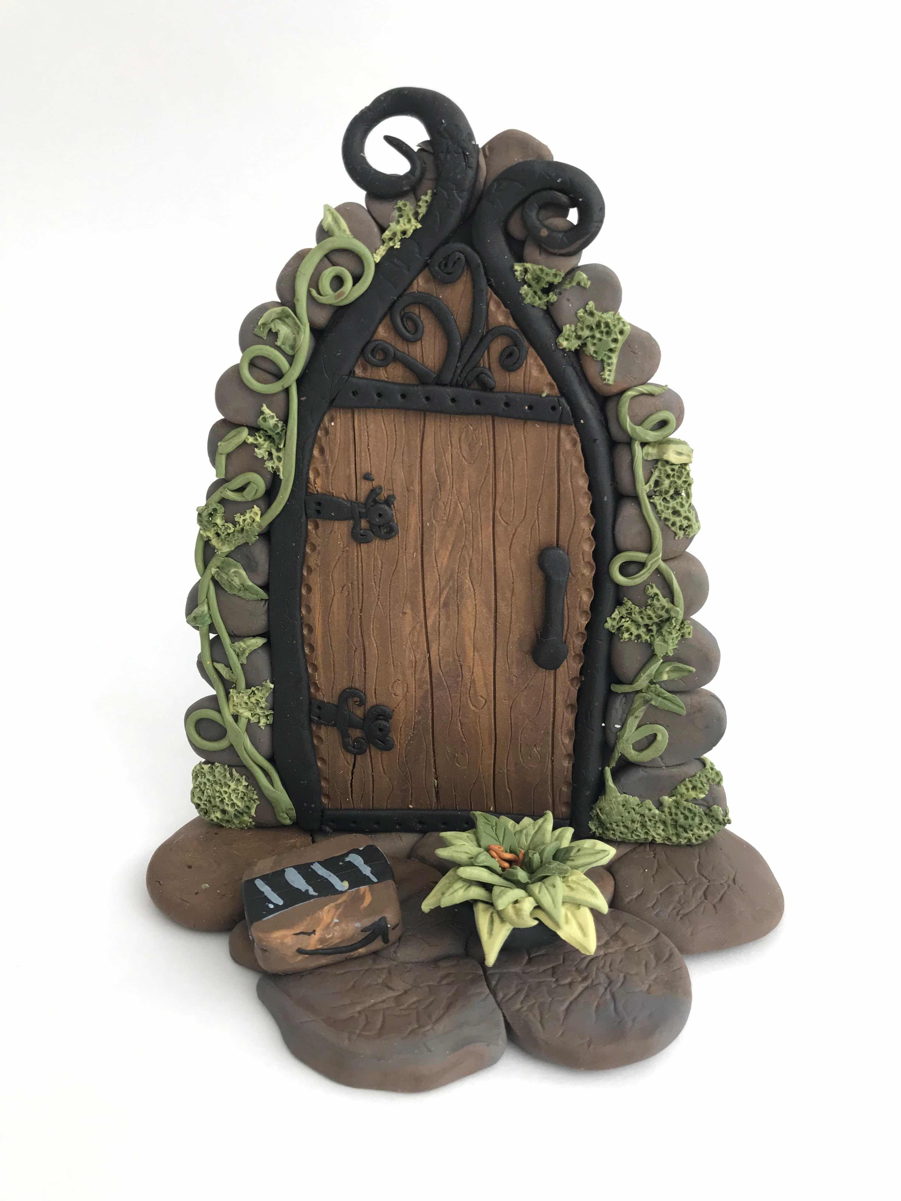 Polymer Clay Fairy Doors