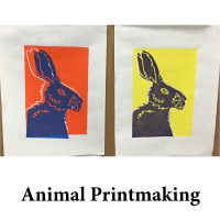 Animal Printmaking for page