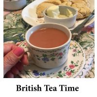 British Tea Time for page