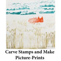 Carve Stamps and Create Picture-Prints for page