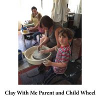 Clay With Me Parent and Child Pottery Wheel for page