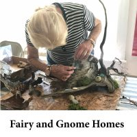 Fairy and Gnome Homes for page
