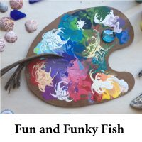 Fun and Funky Fish for page