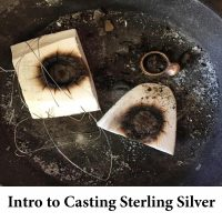 Intro to Casting Sterling Silver for page