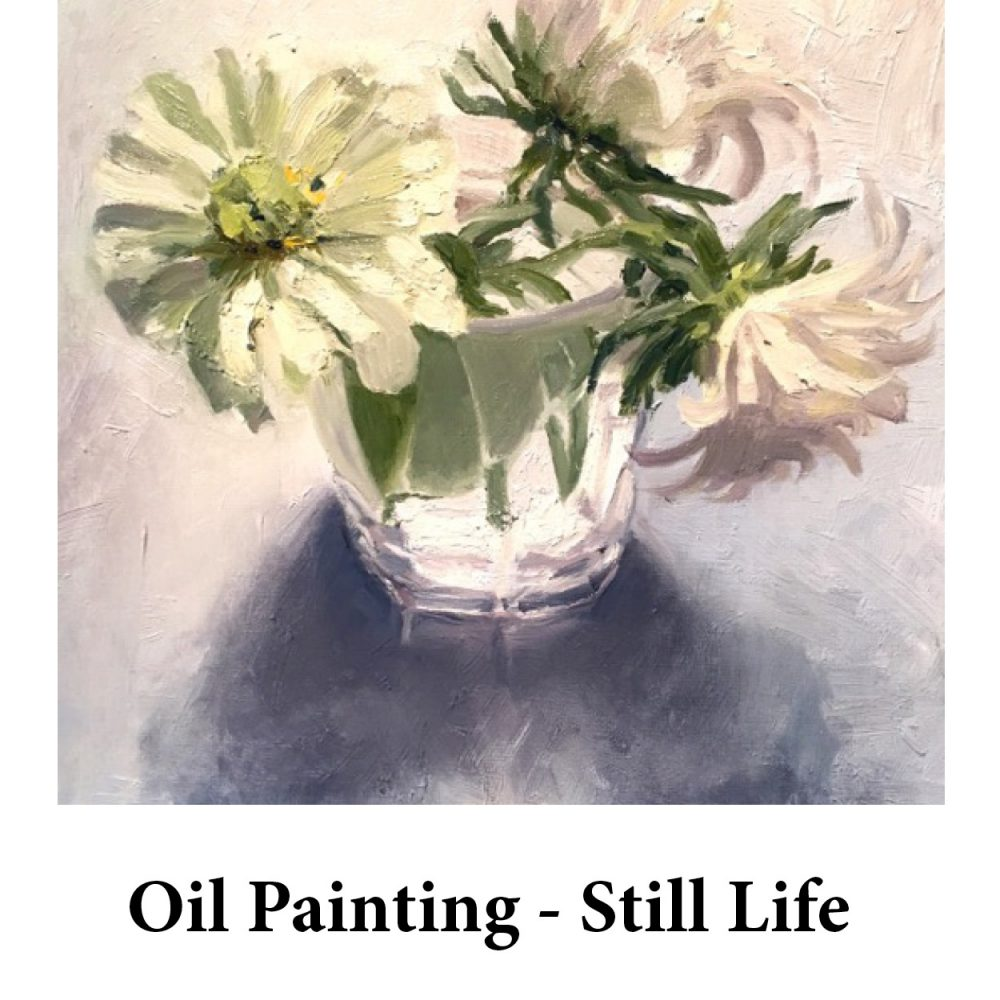 Oil Painting – Still Life for page