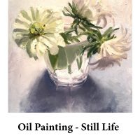 Oil Painting - Still Life for page