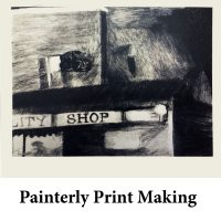 Painterly Print Making for page