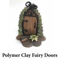 Polymer Clay Fairy Doors for page