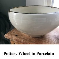 Pottery Wheel in Porcelain for page