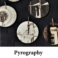 Pyrography for page