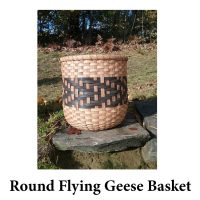 Round Flying Geese Basket Photo for Web