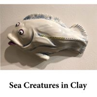 Sea Creatures in Clay for page