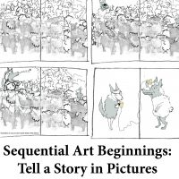 Sequentail Art Beginnings- Tell a Story in Pictures for page
