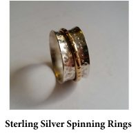 Sterling Silver Spinning Rings for page